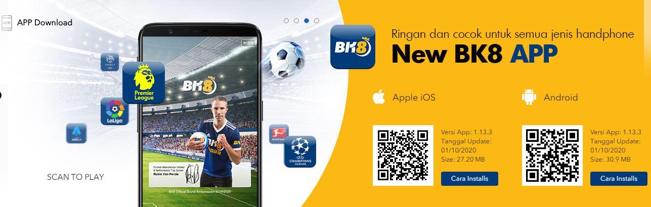Aplikasi seluler BK8